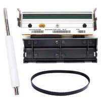 1 stücke Druckkopf druckkopf + Roller + Drucker Gürtel G79056-1M 79056M Kompatibel für zebra Z4M S4M 203dpi thermische Label Drucker