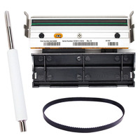 1pcs Printhead Print head+Roller+Printer Belt G79056 1M 79056M Compatible for zebra Z4M S4M 203dpi Thermal Label Printer