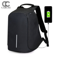 CARCHI Canvas Men S Backpack Bag Brand 15 Inch Laptop Notebook For Men Waterproof Back Pack