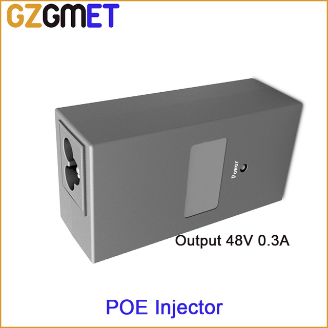 15W 100M PoE15F PoE Switch  Built-in Power Adaptor  DC48V 0.3A Output IEEE802.3af POE Injector