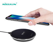 NILLKIN Fast Charging For iPhone X 8 Xr Xs Qi Wireless Charger Pad Samsung S10 S9 S8 Plus Note 9 7 USB 10W Quick