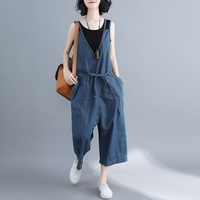 Dungarees women jeans denim overalls women jumpsuit female 2018 Chinese style jumpsuits for women 2018 DD1634 S