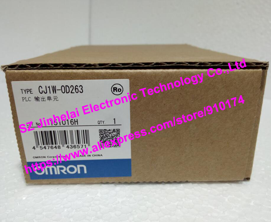 New and original CJ1W-OD263  CJ1W-0D263  OMRON PLC OUTPUT UNIT new and original e3x da11 s omron optical fiber amplifier photoelectric switch 12 24vdc