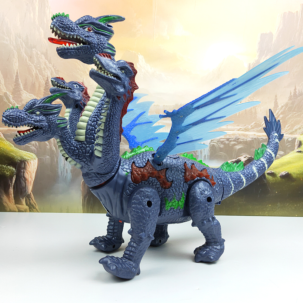 Dinosaurs 53cm In Large Size Light Projection Up Luminous Dinosaur Electronic Walking Robot Dinosaur Model Kids Toy Gift