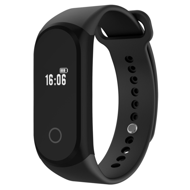 Excellent Quality A16 Smart Bracelet Sport Pedometer Band Heart Rate Fitness Watch Blood Monitor Wristband For iOS Android