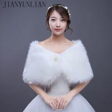 2020 nouveauté blanc ivoire dentelle pailletée châle boléro veste de mariée à manches courtes mariée Wrap femmes mariage haussement dépaules