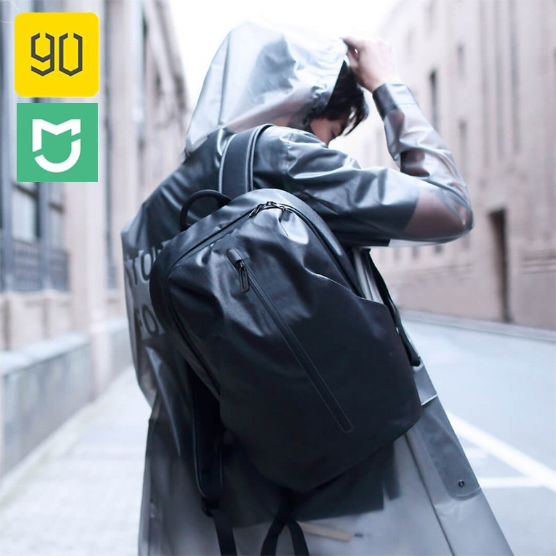 Xiaomi Backpack All Weather Functional 90FUN Waterproof Backpack Women Men Mochila Bagpack Travel Schoolbag Business Bags-in Bags from Consumer Electronics    1