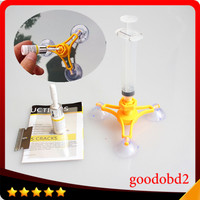 Professional PDR TOOL Paintless Dent Removal Car Windshield Repair Kit Chip Carack Auto Glass Windscreen Repair