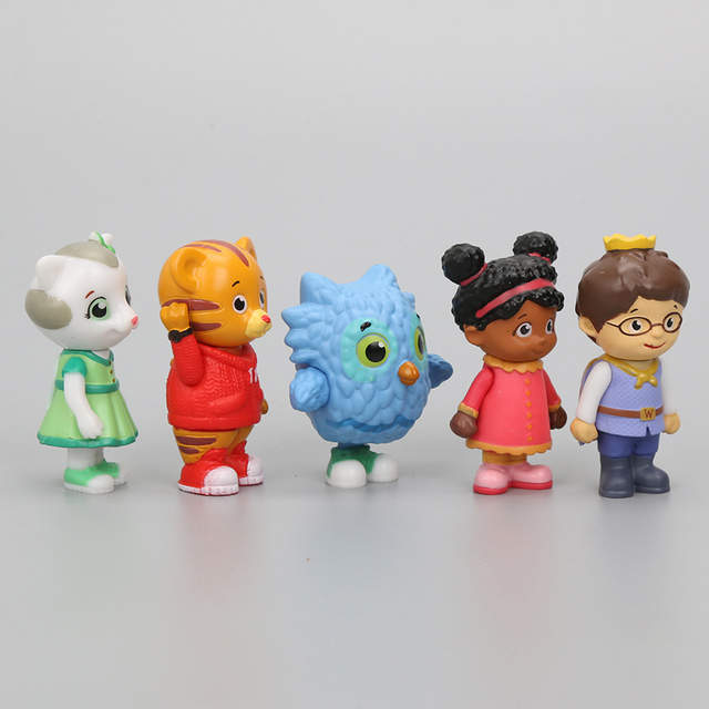 086fb209a3a81c placeholder 5pcs set Daniel Tiger s Neighborhood Trolley and Figures Set  Daniel Tiger Prince Elaina Owl Katerina