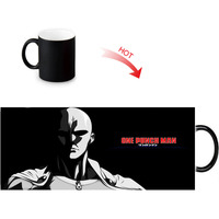 ONE PUNCH-MAN Print Color Change/Changing Ceramic Morph Mug Heat Sensitive Porcelain Morphing Mugs Coffee Tea Milk Cups 2