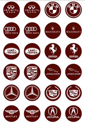 Aliexpresscom  Buy Famous Cars Brand Name Cheap Decoration - Cars sign and names