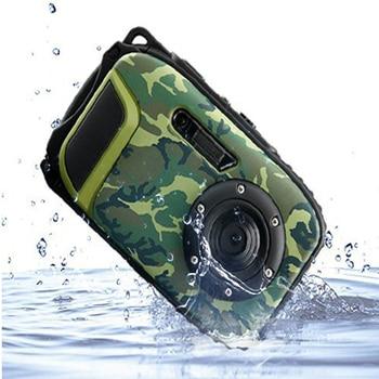 New 16MP Digital Camera With 10m Waterproof +8X digital Zoom + 2.7 inch Screen free shipping