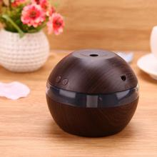 Mini USB Wooden grain Ultrasonic Air Humidifier Portable Aromatherapy Machine Mist Maker fogger Air Purifier for Home Office Car
