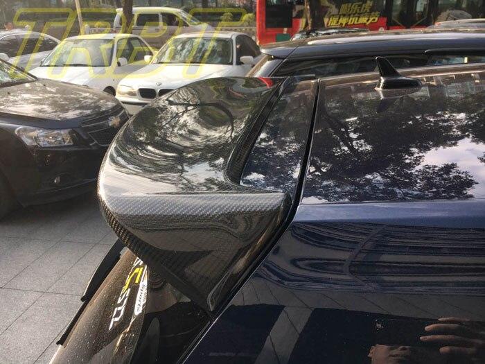 VW Golf 7 Roof Spoiler Carbon Rear Spoiler GTI MK7 Spoiler R Rear Wing RDX Case For Volkswagen Golf 7 GTI 2015 2016 2017