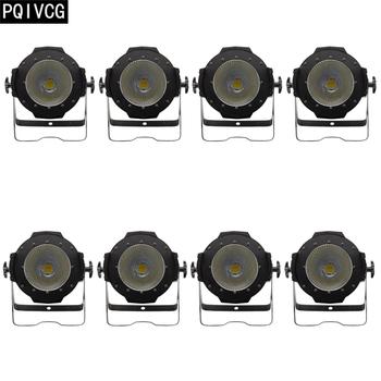 2 4 6 8 sztuk 100W oświetlenie COB ciepły biały zimny biały 2-in-1 COB światła Par DMX512 profesjonalnego światła dj-skie tanie i dobre opinie PQIVCG NONE CN (pochodzenie) Efekt oświetlenia scenicznego Oświetlenie sceniczne DMX 250 w PQ-100W 200W COB 90-240 V Profesjonalne stage dj