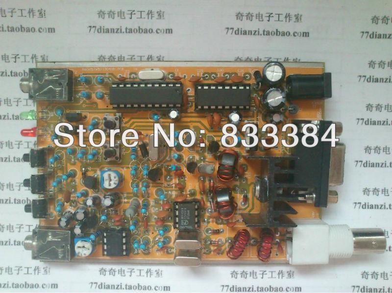 40m Super RM Rock Mite QRP CW Transceiver Telegraph Shortwave HAM Radio DIY Kit