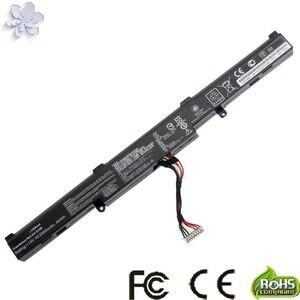 New 15V 2950mAh 44Wh A41-X550E X550E Battery For Asus X450 X450E X450J X450JF X751M X751MA-DB01Q X751MA(China)