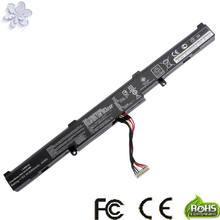 Nova 15V 2950mAh 44Wh A41-X550E X550E Bateria Para Asus X450 X450E X450J X450JF X751M X751MA-DB01Q X751MA