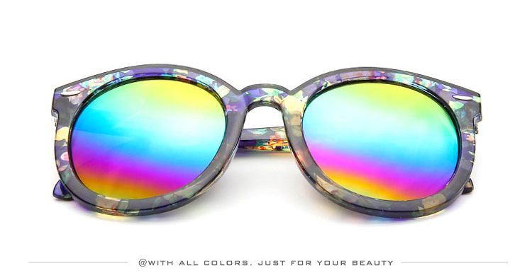 HTB1MF6uSXXXXXaeapXXq6xXFXXXs - Marbling Sunglasses Women Round Frame PTC 268