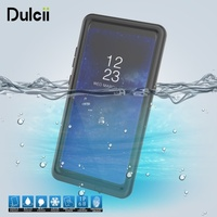 Dulcii voor Samsung Galaxy Note 8 Waterdichte Case IP68 Shockproof Stofvrije Snowproof Waterdicht Slim Case voor Galaxy Note8 Cover