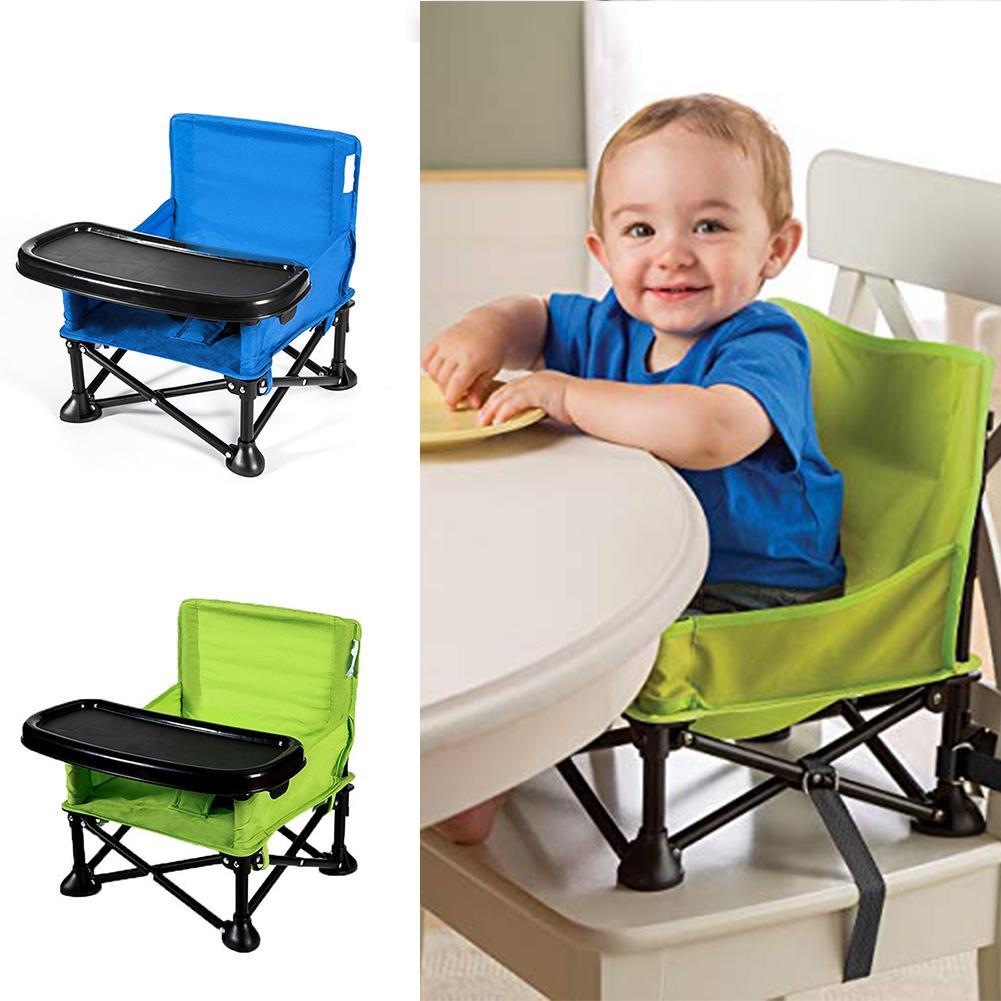 Enfants Portable Table à manger multifonctionnelle siège enfant manger chaise d'apprentissage enfants pliant chaise à manger