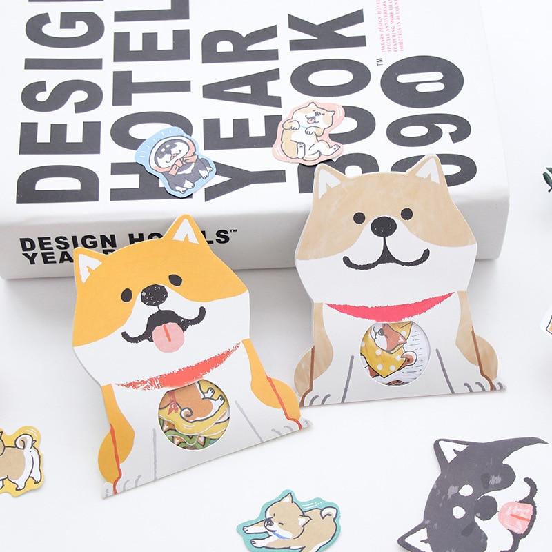 30 pcs/bag Kawaii Dogs Cute stickers scrapbooking Bookmark handmade sticker Gimue stationery Bullet journal stickers 06474