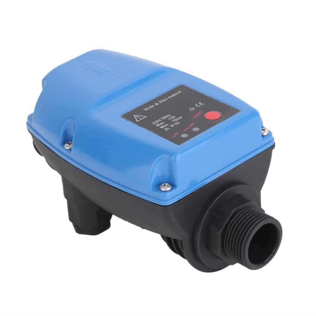где купить SKD-5 Electronic Water Pump Pressure Control Professional Automatic Pressure Control Switch With Pressure Gauge по лучшей цене