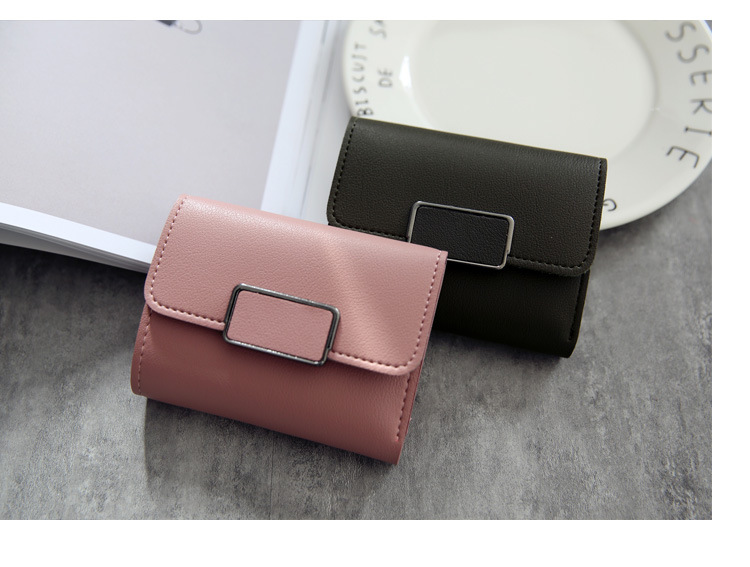 Женские кошельки, Маленький модный брендовый кожаный кошелек для женщин, женская сумка для карт, клатч, Женский кошелек, кошелек с зажимом для денег