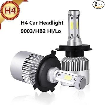 S2 H7 faro LED 72W 8000LM H11 H4 Hola/Lo, 9005 HB3 9006 HB4 HB5 5202 luces frente SUV coche Auto 6000K/4300K/8000K 12V lámpara de la niebla