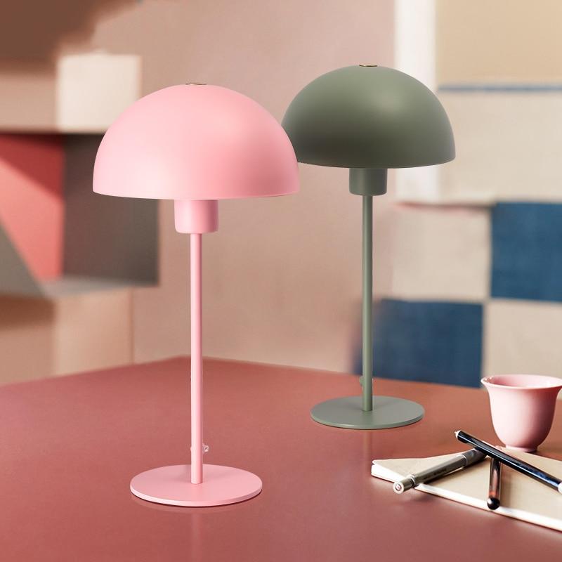 modern iron table lamp living room bedroom table lighting iron shade ...