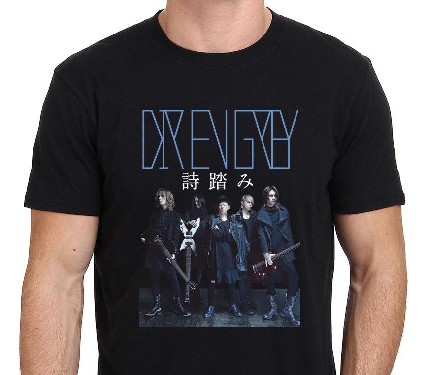 New Dir En Grey MenS Black T Shirt Size: S M L Xl Xxl ...