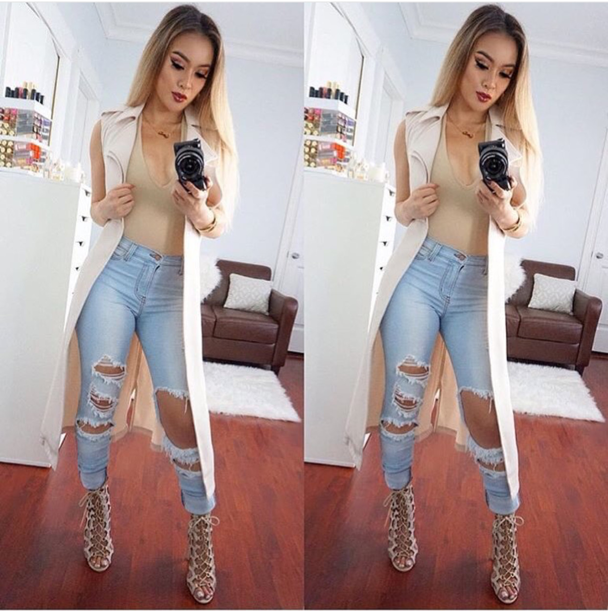 Big Ripped Jeans Reviews - Online Shopping Big Ripped Jeans
