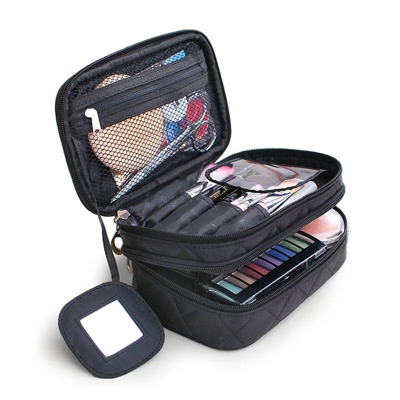 aliexpress buy 2016 luxury cosmetic bag big