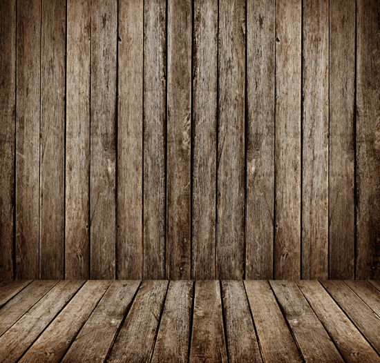 art fabric photography backdrop vintage wooden wall and floor