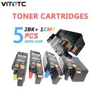CP105 Compatível Para Fuji Xerox Docuprint CP105 CP105b CP205 CP205b CM205 CM205b CM205f CM205fw 2BK + 1CMY Cartucho de Toner de Cor