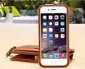 """Для iPhone 6 6 s 4.7 """"оригинальный Роскошный FLOVEME Марка Кошелек Кошелек Case С 18 Слотами Для Карт Для iPhone 6 6 S Plus Телефон Ретро Сумки"""