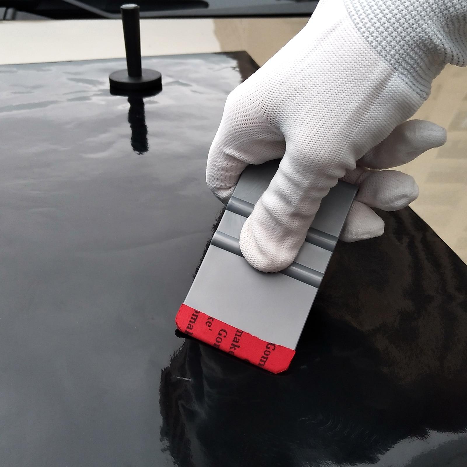 Image 3 - EHDIS Vinyl Wrap Film Pro Tint Microfiber Felt Squeegee Carbon Fiber Suede Scraper Auto Sticker Wrapping Accessories Car Tools-in Scraper from Automobiles & Motorcycles