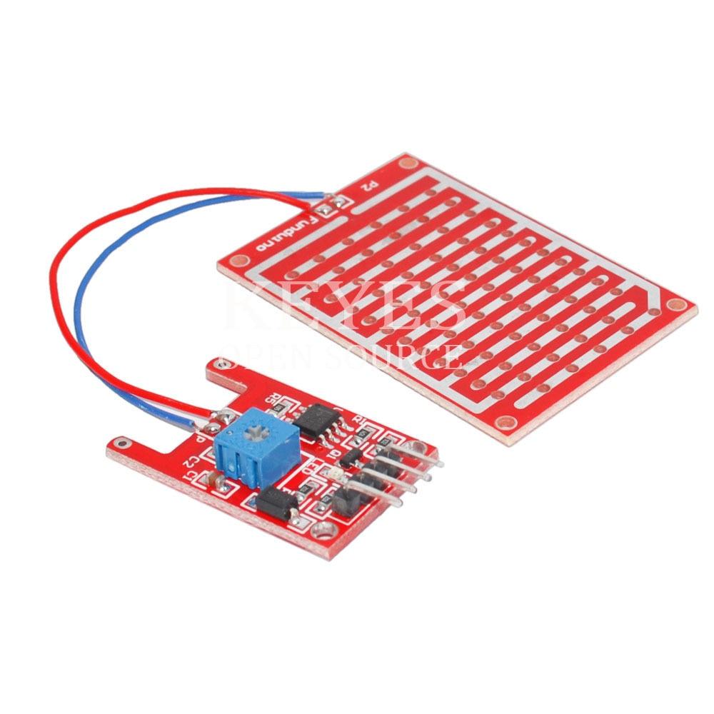 Free Shipping! Rain Sensor Module For Arduino