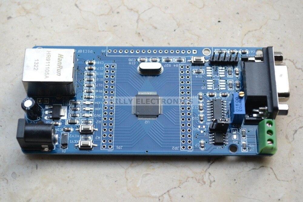 Microchip PIC18F66J60 Development Board Network ICD2 / PICKit2 / PICKit3 msp430 development board microchip msp430f149 program breadboard