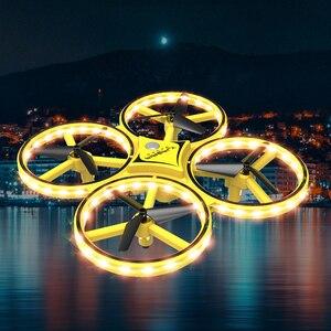 Image 3 - 新ミニドローンリストバンド制御赤外線障害物回避ハンドコントロール高度ホールド 2.4 グラム Quadcopter 子供のためのおもちゃギフト ZF04