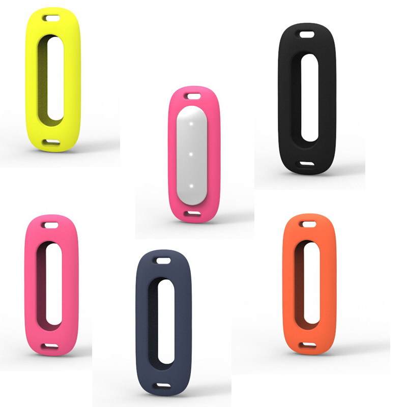 Silicone Necklace Case Carrier Replacement For Mi band