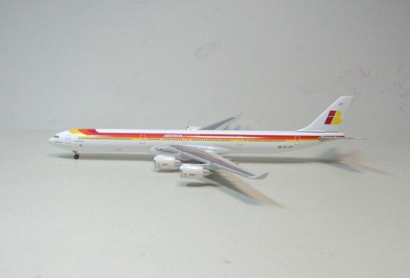 1:400 IBERIA Airbus A340-600 Hogan Spain national aviation EC-JCY