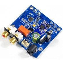 Módulo QCC3003 Bluetooth 5,0 con PCM5102 DAC soporte A2DP, AVRCP, HFP, AAC, I2S para amplificador DC12V