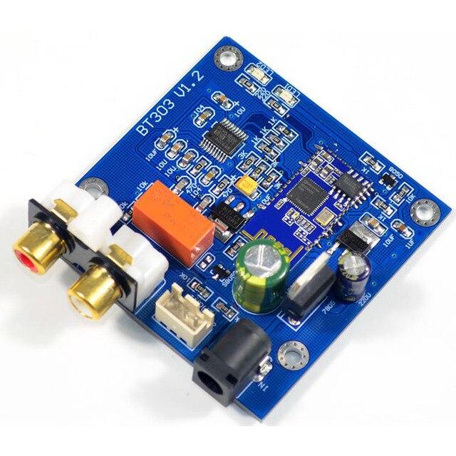 QCC3003 Bluetooth 5,0 Modul Mit PCM5102 DAC Unterstützung A2DP, AVRCP, HFP, AAC, I2S Für Verstärker DC12V
