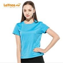 Freies Verschiffen-NEUES Laynos HQ Sommer-Frauen-runde Kragen-Freizeitgeliebte Kurzhülse Gym-Sport-schnelles dünnes trockenes T-Shirt 182A537