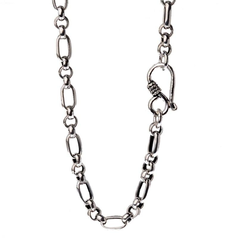JustNeo solide 925 collier en argent sterling, chaînes de base