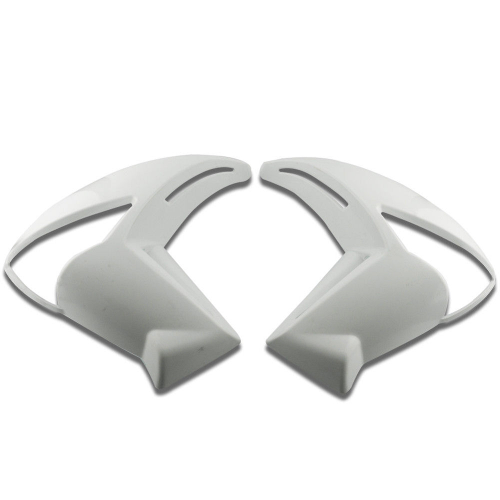 Motorcycle Parts Unpainted Left Right Turn Signal Mid Side Fairing Trim Cowl Plastic For Kawasaki ER6N