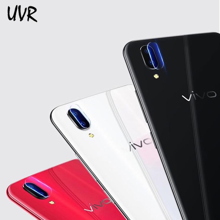 UVR 2PCS For Vivo X21 X20 Plus Camera Lens Tempered Glass Screen Protector Film For Vivo X9 X9S Plus Back Camera Lens Soft Film
