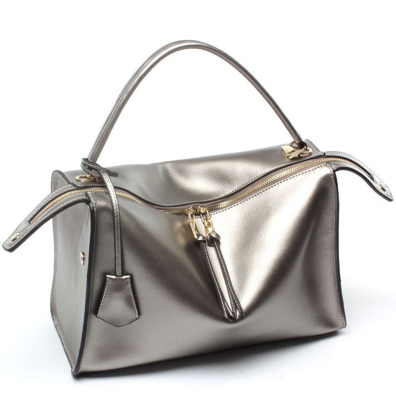 Autumn Winter Ladies Genuine Leather Bag Cowhide Single Shoulder Small Bag autumn and winter new ladies genuine