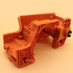 Image 3 - Skrzyni korbowej skrzynia korbowa dla Husqvarna 137 137e 142 142e zamiennik do piły łańcuchowej silnika części silnika